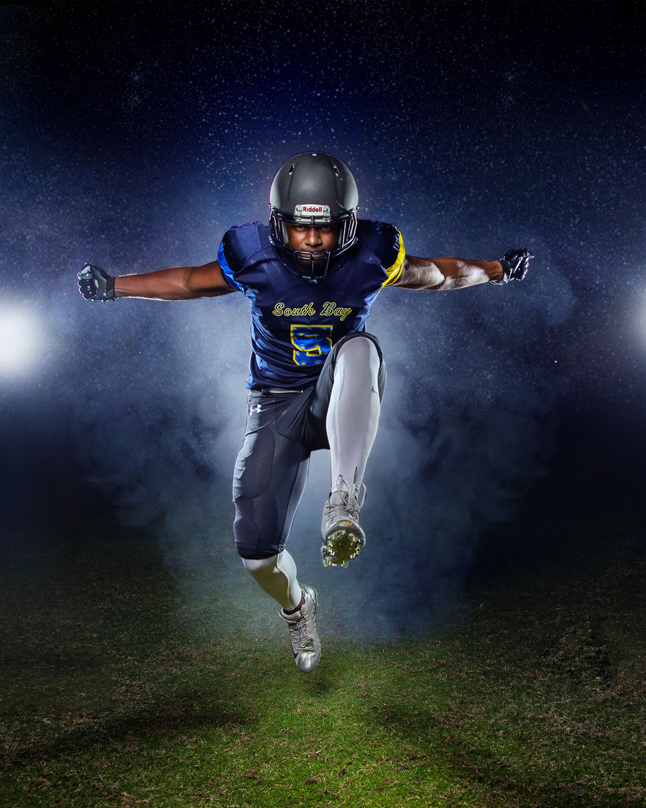 Sports advertising photography Dallas